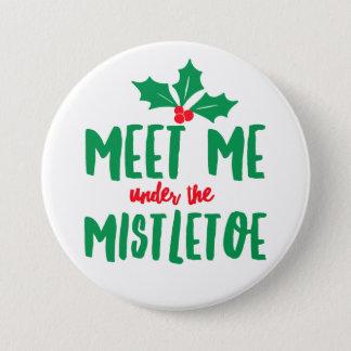 Under the Mistletoe Round Button