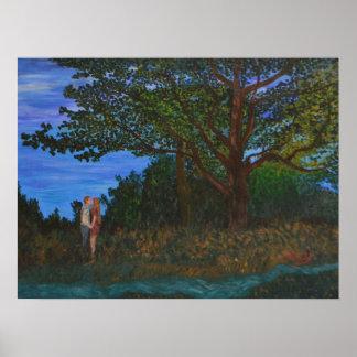 """Under the Oak Tree"" Poster"