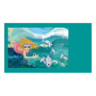 Under the ocean business cards