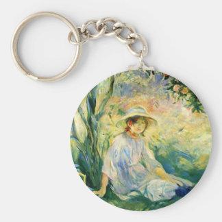 Under the Orangetree by Berthe Morisot Key Chain