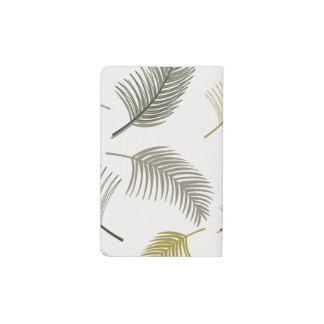 Under the palm trees pocket moleskine notebook
