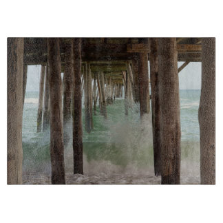 Under The Pier by Shirley Taylor Cutting Board