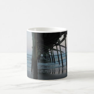 Under the Pier - Oak Island, North Carolina Coffee Mug