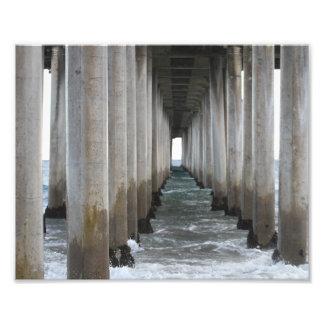 Under the Pier Photo Print