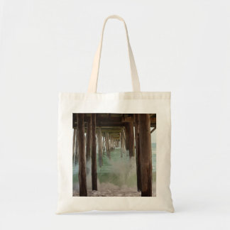 Under the Pier Budget Tote Bag