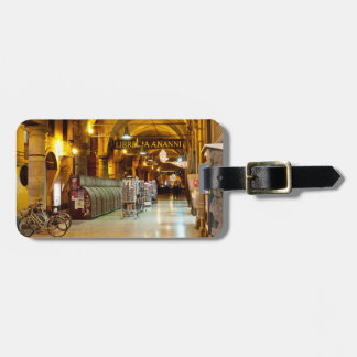 Under the Portico Luggage Tag