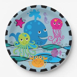 Under the Sea Birthday Paper Plates