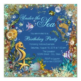 under the sea quinceanera invitations  announcements  zazzle.au, Quinceanera invitations