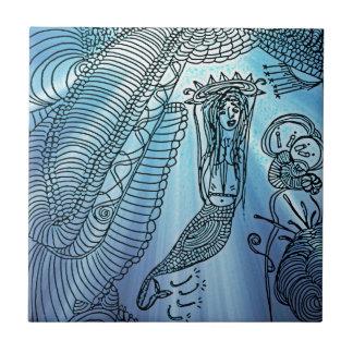 Under the sea ceramic tile