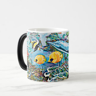 Under the Sea Creatures Ocean Coffee Mug