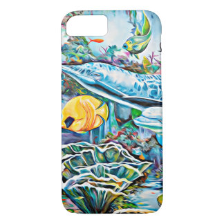 Under the Sea Creatures Phone Case