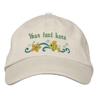 Under the Sea - customize Embroidered Baseball Cap
