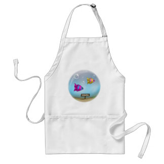 Under the Sea - Fish Bowl Design - Apron