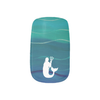 Under the Sea - Mermaid Nail Stickers