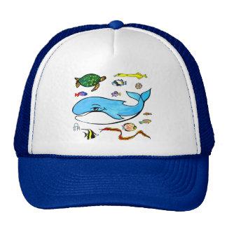 Under the Sea- Ocean Life Trucker Hats