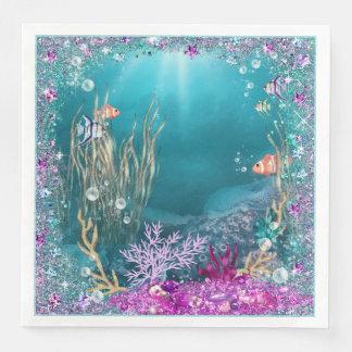 Under the Sea Ocean Napkins Paper Serviettes