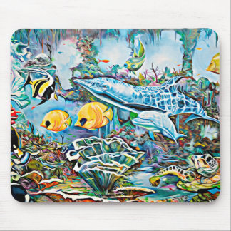 Under the Sea Oceanic See Creature Mouse Pad
