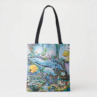 Under the Sea Oceanic See Creature Tote Bag