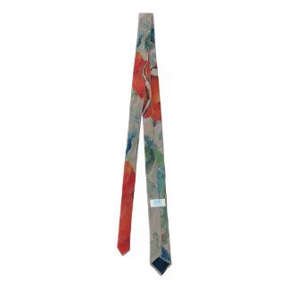 """Under the Sea"" Original art design skinny necktie"