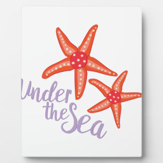 Under The Sea Photo Plaques