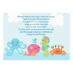 Under the Sea/Pink Whale Favor Tag/Card Business Cards