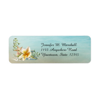 Under the Sea Return Address Label