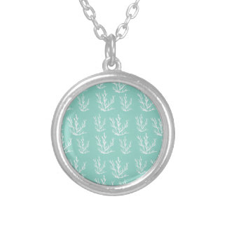 under the sea silver plated necklace