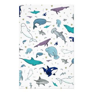Under the Sea Stationery