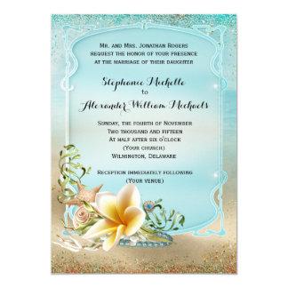 Under the Sea Wedding Invitation