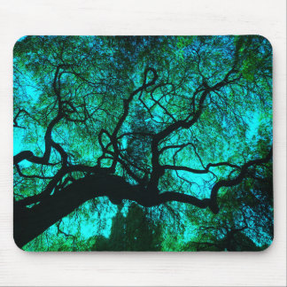 Under The Tree in Turquoise III Mouse Pad