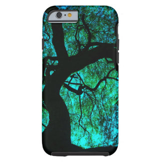 Under The Tree in Turquoise Tough iPhone 6 Case