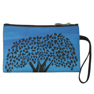 Under the tree wristlet purse