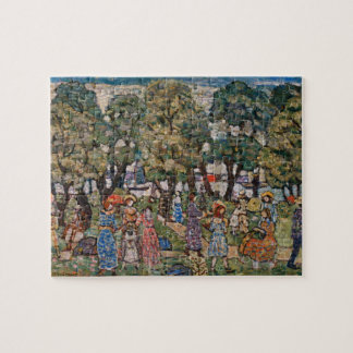 Under the Trees by Maurice Prendergast Jigsaw Puzzle
