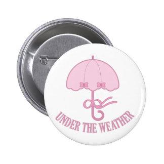 Under The Weather 6 Cm Round Badge