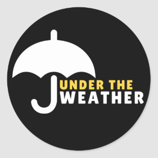 Under the weather Sticker