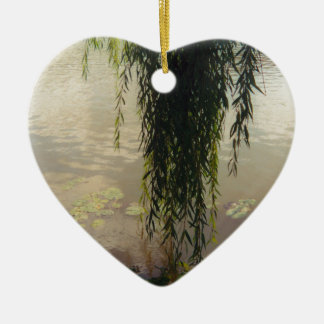 under the willow tree.jpg ceramic ornament