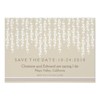 Under the Willow Tree Save the Date Wedding Card
