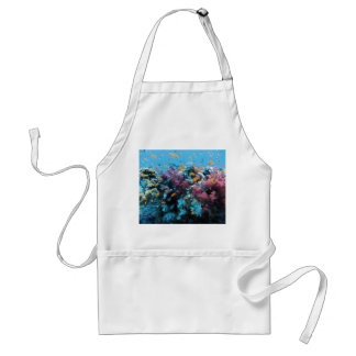 Under water Coral and Fish Apron
