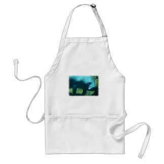 Under Water Manatee  Apron