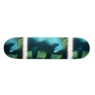 Under Water Manatee  Skateboard