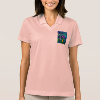 Under Water World Abstract Polo Shirts