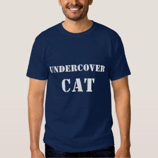 Undercover Cat T-shirt