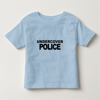 Undercover Police Toddler T-Shirt