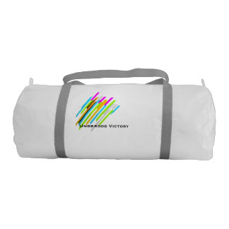 Underdog Victory - ColorLines GymBag Gym Duffel Bag