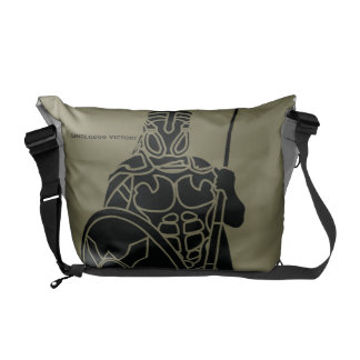 Underdog Victory - Roman Soldier Green Tote Bag Commuter Bag
