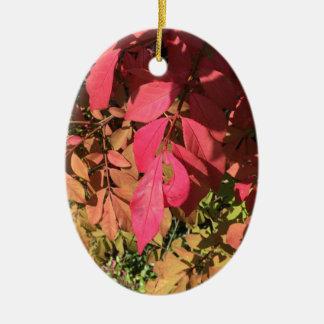 Underexposed Ceramic Ornament