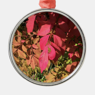 Underexposed Metal Ornament