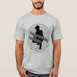 Underground Beatniks Grey t-shirt