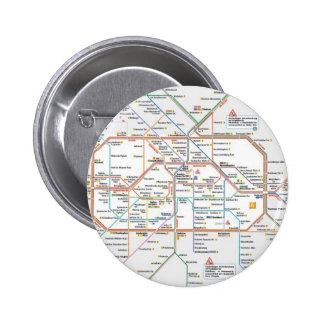 Underground Berlin 6 Cm Round Badge
