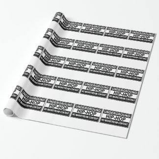 Underground Hip-Hop flex T-Shirts . Wrapping Paper